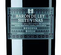 Foto: Barón de Ley Siete Viñas Reserva 2005