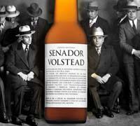 Foto: Senador Volstead, una cerveza para brindar por la Ley Seca