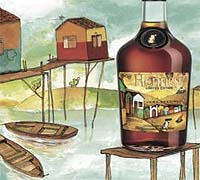 Foto: Hennessy Os Gemeos, el cognac más callejero