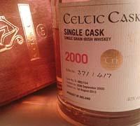 Foto: Celtic Cask Trí Single Grain, un whiskey irlandés con acento mallorquín