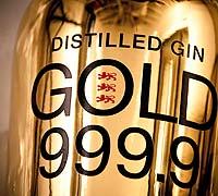 Foto: Gin Gold 999,9: no todo lo que reluce es oro