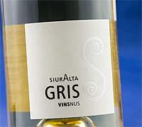 Foto: Siuralta Gris 2013, garnacha gris para un blanco radical