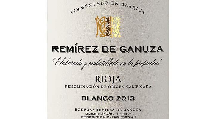 Foto: Remírez de Ganuza 2013, el genio blanco de la botella