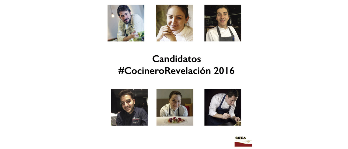 Premio #CocineroRevelaci�n Madrid Fusi�n 2016