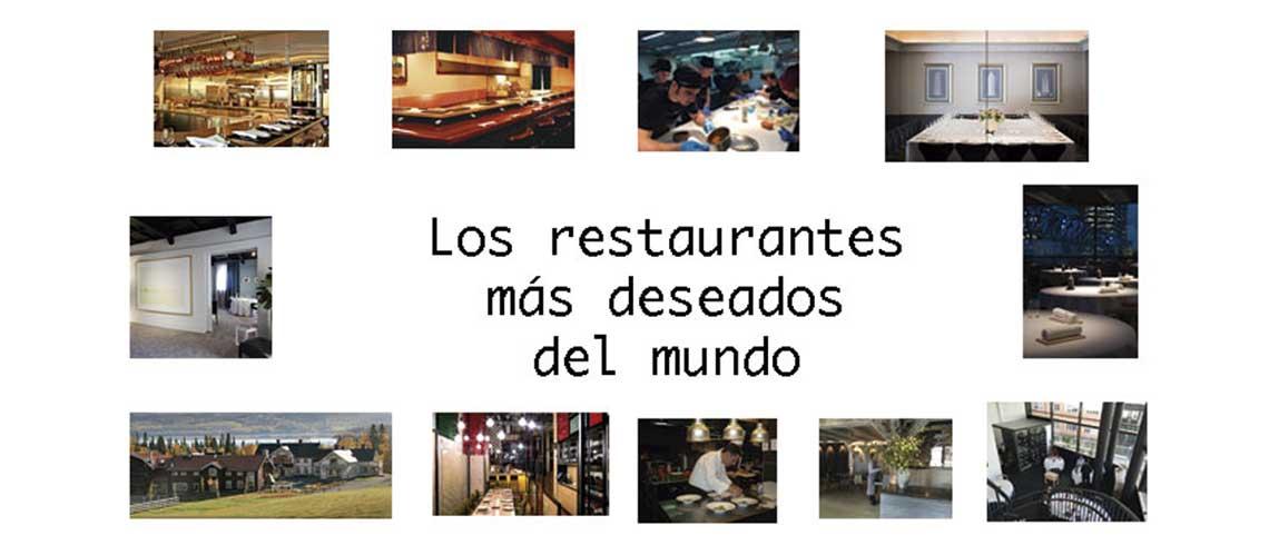 Los restaurantes m�s deseados del mundo