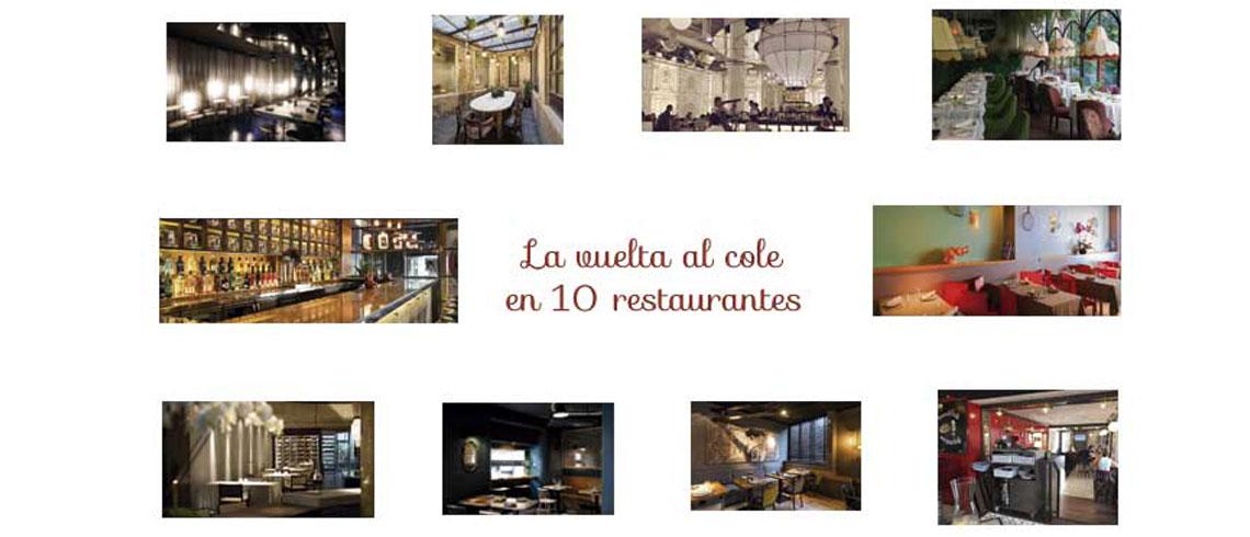 La vuelta al cole en 10 restaurantes de Madrid