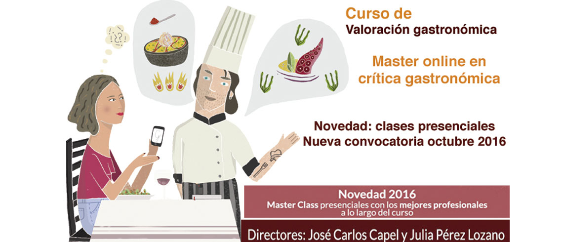 Master online en crit�ca gastron�mica