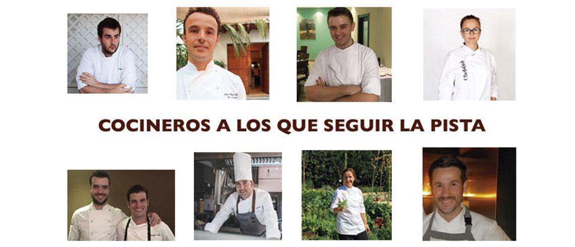 8 cocineros a los que seguir la pista
