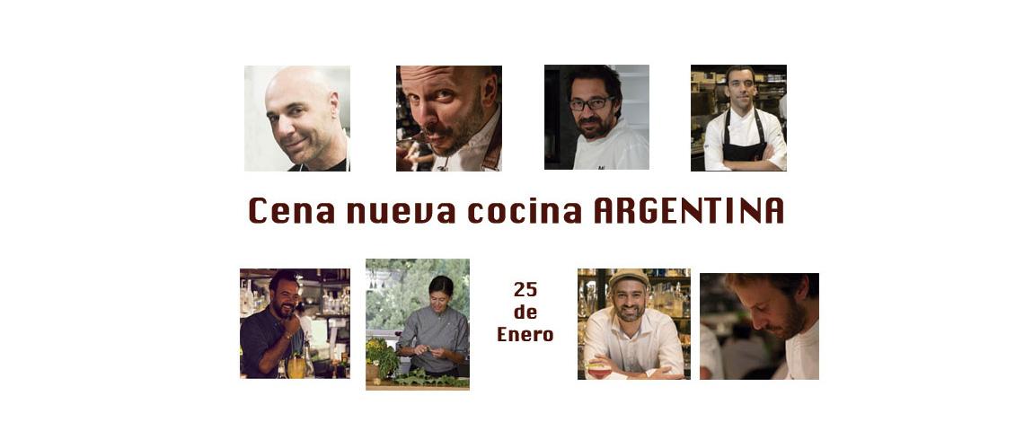 Cena Nueva Cocina Argentina