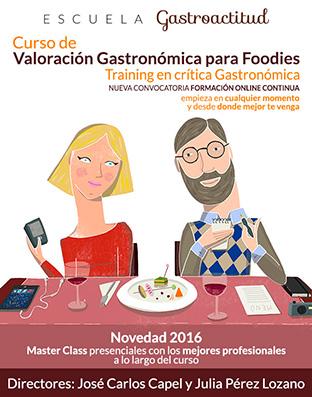 Foto: Formación. Training en crítica gastronómica