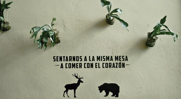 Foto: El ciervo y el oso