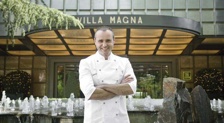 Foto: Rodrigo de la Calle se estrena en el hotel Villa Magna de Madrid