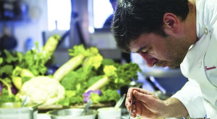 Foto: Fernando del Cerro, nuevo chef de Lavinia