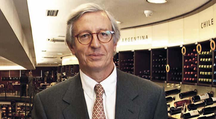 Foto: Adiós a Thierry Servant, el hombre que soñó la mejor enoteca del mundo