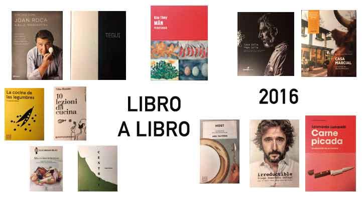 Foto: 2016: libro a libro