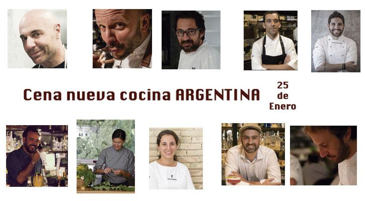 Foto: Cena Nueva Cocina Argentina