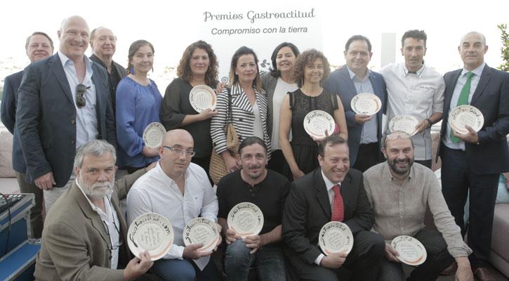 Foto: II Premios GastroACTITUD compromiso con la Tierra
