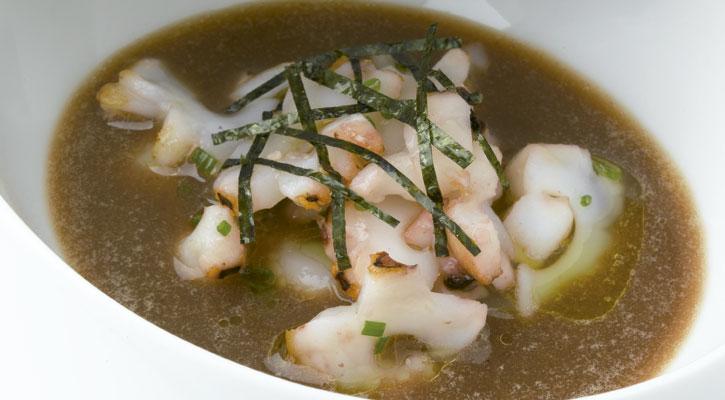 Foto: Estofado de calamar de pota