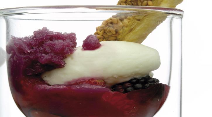 Foto: Infusión de frutos rojos