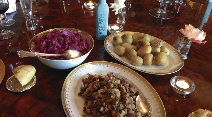 Patatitas al horno con aceite Arbequinoal Humo de Roble Castillo de Canena