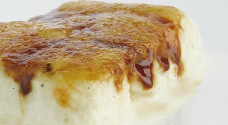 Foto: Torrija de pan caramelizada