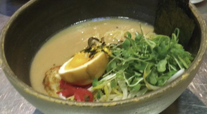 Ramen de pescado de Chuka Ramen Bar