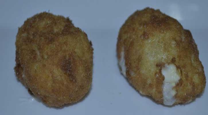 Croquetas de jamón y huevo - La Cueva