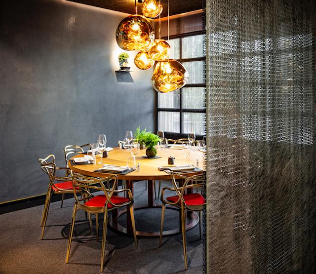 Zona Privada del restaurante 99 Sushi Bar en Bilbao España