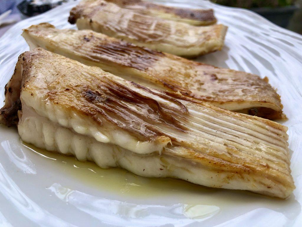 Raya a la plancha. Chinchín Puerto (GastroActitud)