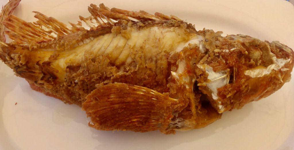 Gallineta frita. Chinchín Puerto (GastroActitud)