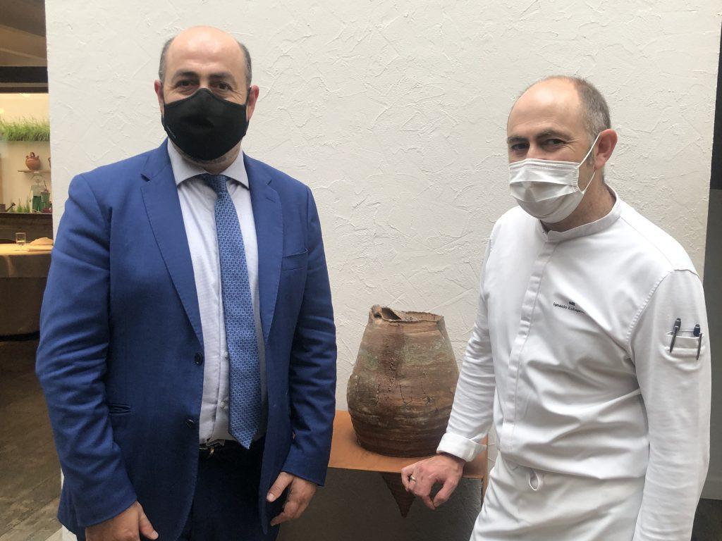 Carlos e Ignacio Echapresto. Venta Moncalvillo. GastroActitud
