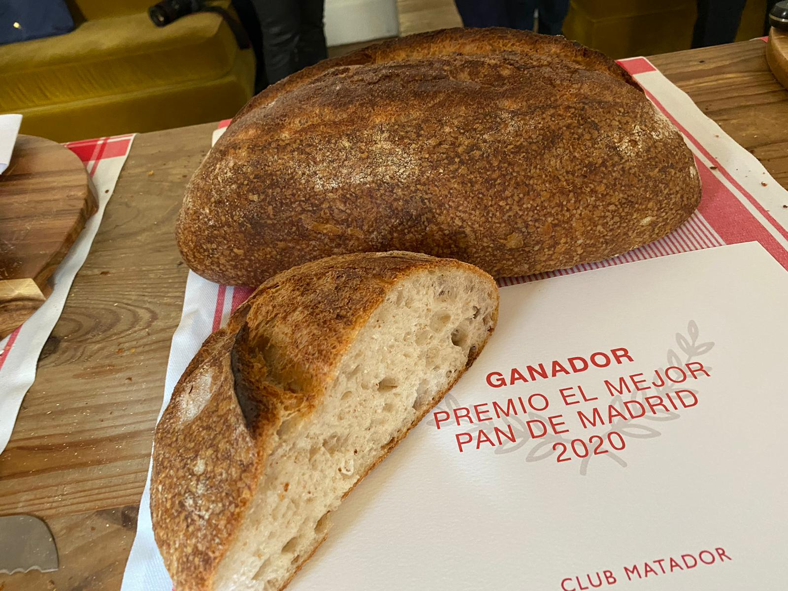 MEJOR PAN DE MADRID 2020