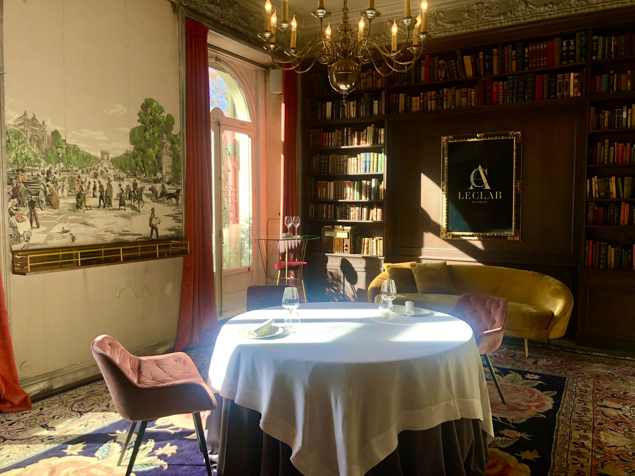 Resultado de imagen de leclab restaurante madrid