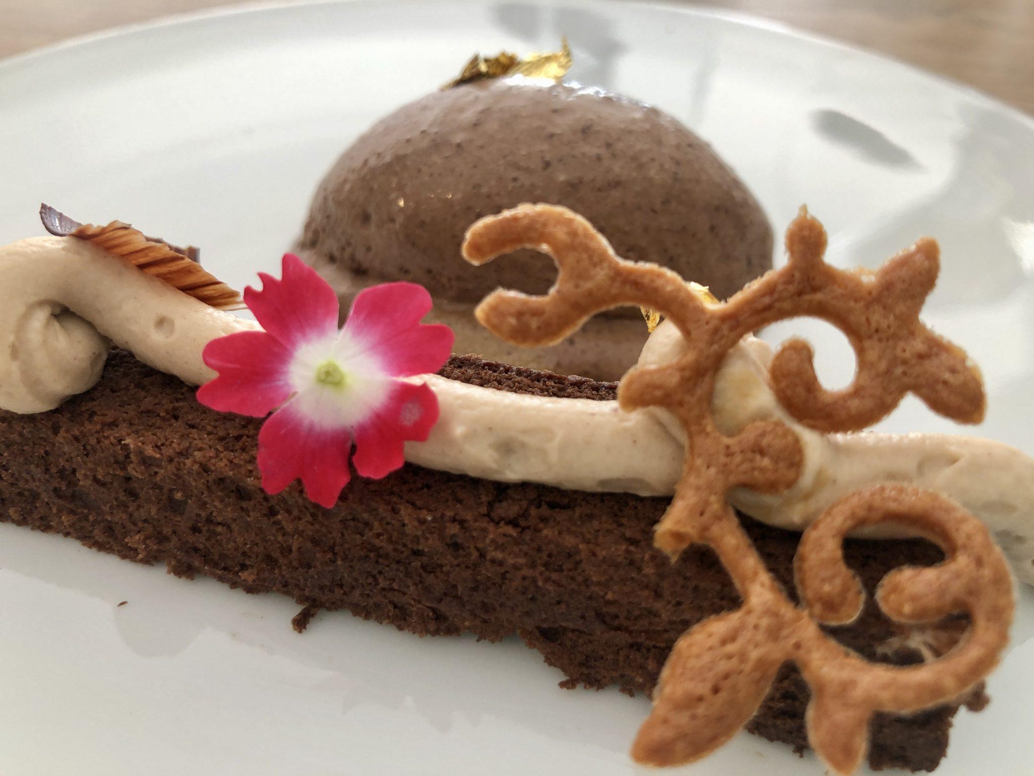Chocolate, avellanas, praliné