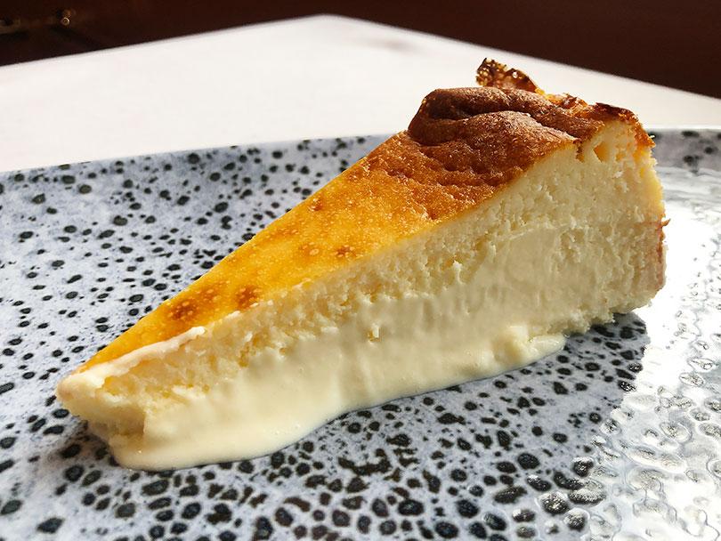 Restaurante Essentia (Tarancón) - Tarta de queso manchego curado