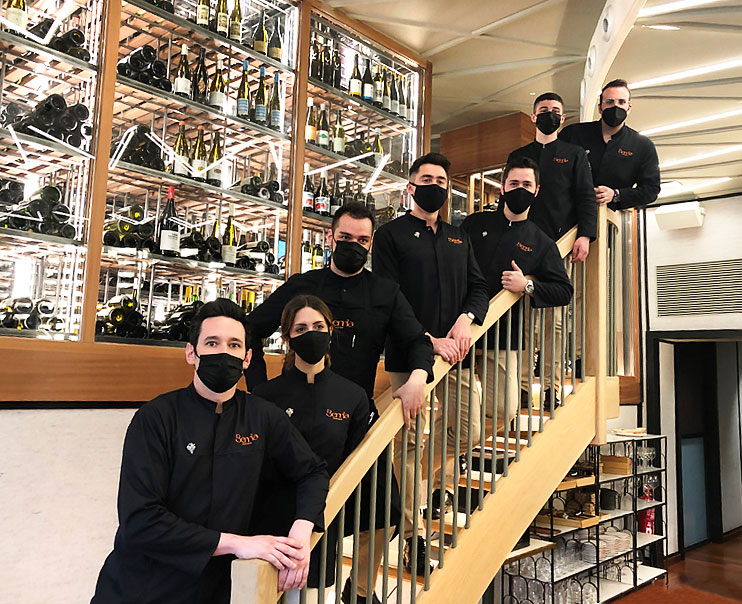 Berria Wine Bar equipo de sumilleres