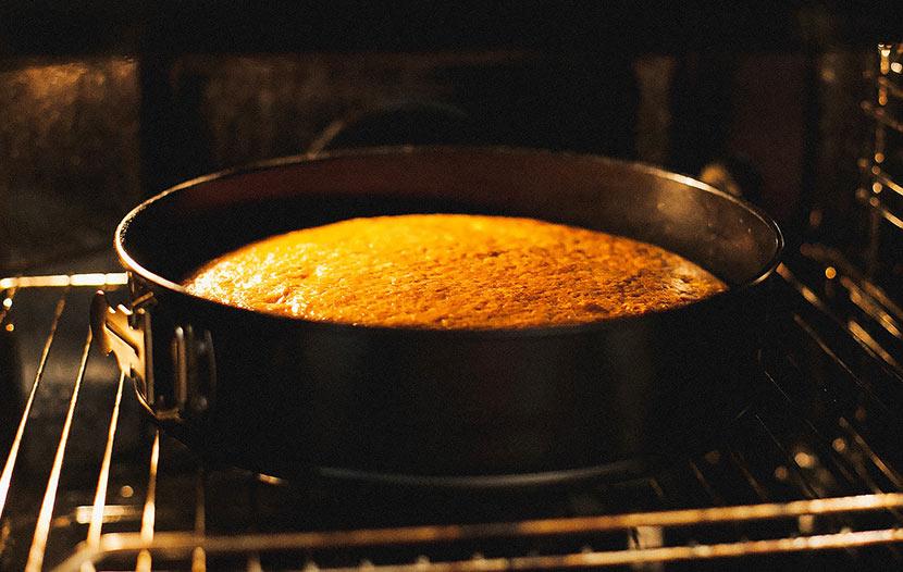 bizcocho al horno gastroactitud