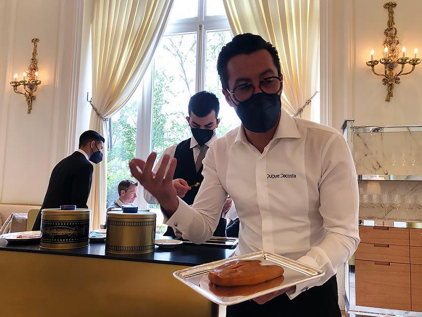Deessa Mandarin Oriental Ritz Madrid Quique Dacosta
