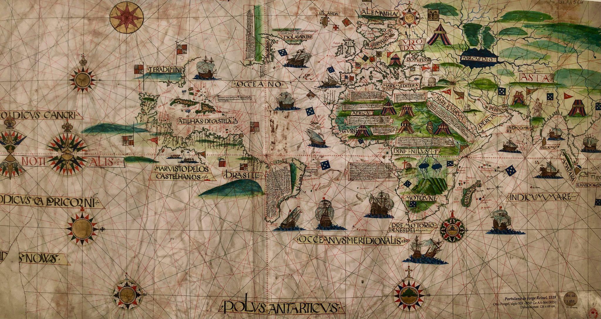 Cartografía de la expedición Magallanes y Elcano