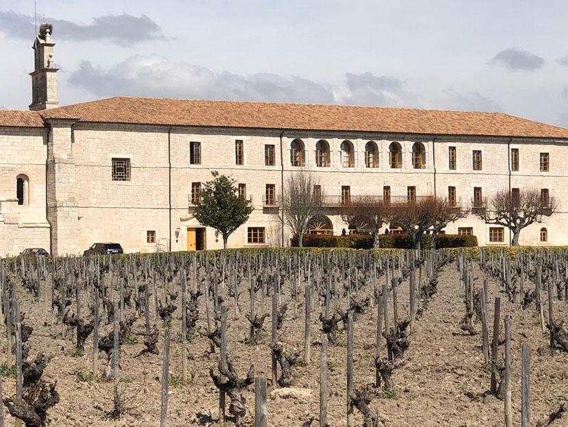 El refectorio Abadía de Retuerta (Valladolid)