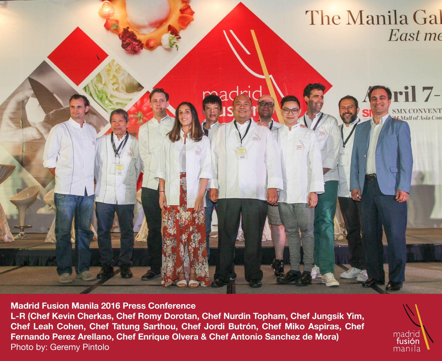 Así fue Madrid Fusión Manila 2016 - Gastroactitud  Pasión